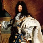 Luís XIV de Francia. Pintado por Rigaud.