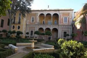Palacio renacentista dentro del Palacio de Pilatos