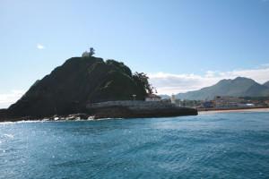 Entrada al puerto de Ribadesella