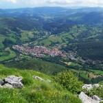Ramales desde lo alto del Pico San Vicente