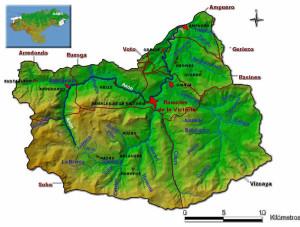 Los ríos que confluyen en Ramales